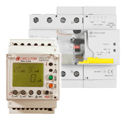 Earth leakage and circuit breaker protection with reclosing system