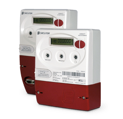 Three-phase energy meters, indirect connection