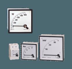 Wattmeters and varmeters